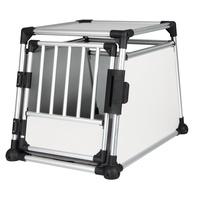 TRIXIE Transportbox Aluminium M-L