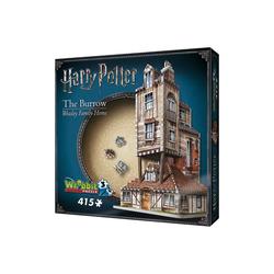 Wrebbit 3D-Puzzle Wrebbit 3D Puzzle 415 Teile Harry Potter Fuchsbau, Puzzleteile