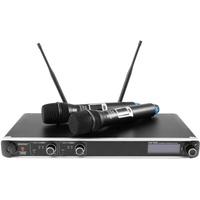 Omnitronic UHF-302 2-Kanal-Funkmikrofonsystem 823-832/863-865MHz