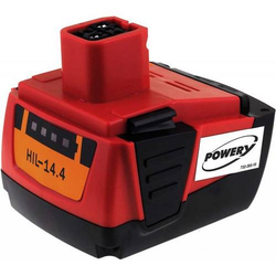 Powery Akku für Hilti Bohrmaschine SF 144-A / Typ B 144/B14, 14,4V, Li-Ion