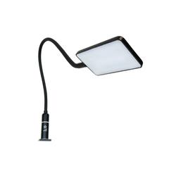 kalb Bettleuchte kalb 4W LED Bettleuchte Leseleuchte Flexleuchte Nachttischlampe Bettlampe Leselampe schwarz