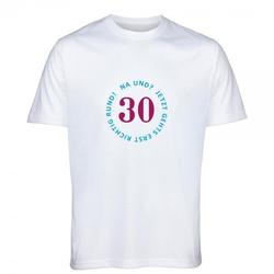 T-Shirt zum 30.Geburtstag