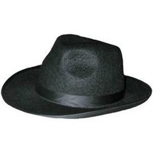 MAFIAHUT - Hut Al Capone, schwarz,  Bogarthut, Gangsterhut - Caponehut