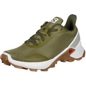 Salomon Alphacross Schuhe Damen oliv UK 8   EU 42 2020 Trail Running Schuhe