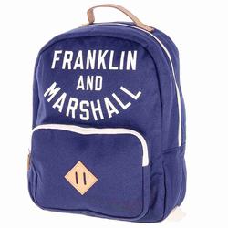 Rucksack FRANKLIN & MARSHALL - Varsity backpack - dark blue solid (25)
