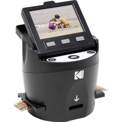 Kodak SCANZA Digital Film Scanner Filmscanner 14 Megapixel Durchlichteinheit, Integriertes Display,