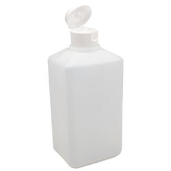 Rechteckflasche Euroflaschen Leerflasche  500ml für Seife Desinfektion etc.