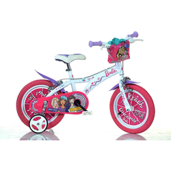 Kinderfahrrad Dino bikes 16barbie Farbe Pink White 616g-ba