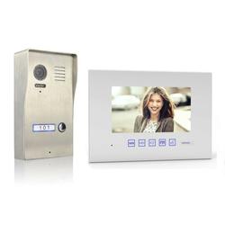 Video Türsprechanlage mit 7 Zoll Monitor Aufputz 1x 7 Zoll Monitor Nein