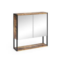 Vicco Badezimmerspiegelschrank Spiegelschrank Fyrk Vintage Badschrank Badmöbel Badspiegel mit Ablagen