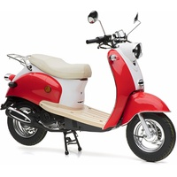 Nova Motors Retro Star 50 ccm 3,0 PS 45 km/h rot-weiß