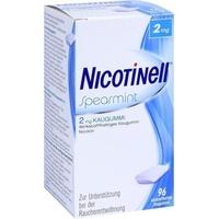 Novartis Nicotinell Spearmint 2 mg Kaugummi 96 St.