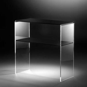 Konsolentisch aus Acrylglas Schwarz