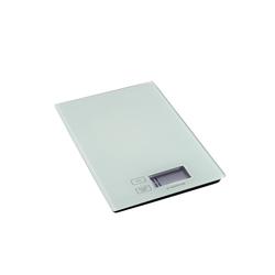 Justinus Digitale Küchenwaage in weiß, 16,5 x 23 cm