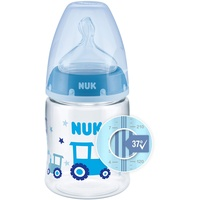 NUK First Choice+ Babyflasche mit Temperature Control Anzeige, Trecker