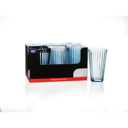 Long Drink LAWE blau Glas blau RITZENHOFF 164442 (BHT 8x14x8 cm) Ritzenhoff & Breker