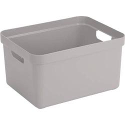Aufbewahrungsbox 32L hellgrau