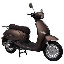 Alpha Motors Motorroller Cappucino 50 ccm 45 kmh braun