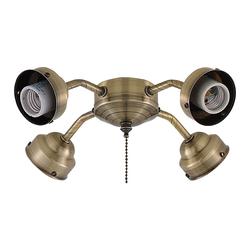 Leuchtenhalterung F401 für Fanimation Tulpenglas
