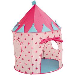 roba® Spielzelt Castle rosa, Durchmesser 105 cm