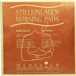 STILLEINLAGEN Seide/Wolle 2 St