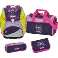 Glitter Heart mit Sporttasche