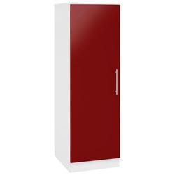 wiho Küchen Seitenschrank Aachen, Breite 50 cm rot