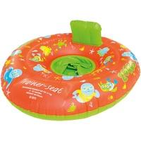 Zoggs Unisex – Babys Zoggy Trainer Seat Schwimmsitz, Schwimmlernhilfe Orange/Green/Multi 0-12 Monate