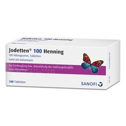 JODETTEN 100 Henning Tabletten 100 St