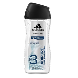 250ml Adidas Duschgel Shower Gel 3in1 Adipure moisturising cotton tech