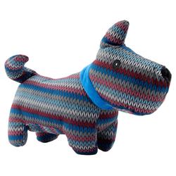 Hunde-Plüschspielzeug Bunter Hund bunt, Länge: ca. 30 cm - ca. 30 cm