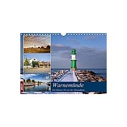 Urlaub in Warnemünde (Wandkalender 2021 DIN A4 quer)