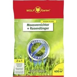 Wolf Garten 3841040 Moosvernichter + Rasendünger SW 400