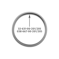 Fissler Dichtungsring Fissler Vitavit Dichtungsring 22 cm für Schnellkoc