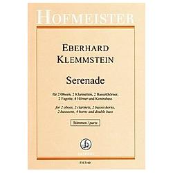 Serenade / Stimmen. Eberhard Klemmstein  - Buch