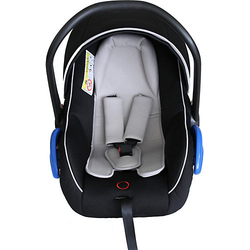 Babyschale Fahrradanhänger Kidgoo schwarz  Kinder