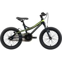 Bikestar Kinderfahrrad 16 Zoll RH 25 cm grün/schwarz