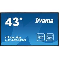 """Iiyama ProLite LE4340S-B1 43"""" schwarz"""