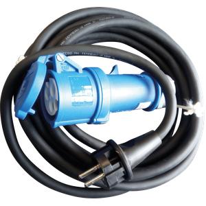 CEE-ADAPTER 3-K5 - Schutzkontakt-Stecker auf CEE-Kuppl. 230V/16A