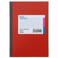 KÖNIG & EBHARDT Kladde 8616271 Notizbuch kariert Rot Anzahl der Blätter: 48 DIN A6