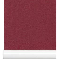 Springrollo Softrollo Mittelzugrollo Schnapprollo, Liedeco, Lichtschutz, ohne Bohren rot 100 cm x 130 cm