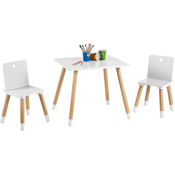 roba® Kindersitzgruppe Kindersitzgruppe, weiß, (3-tlg)