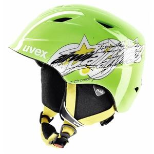 Uvex Airwing 2 Ski Helmet - Green Star