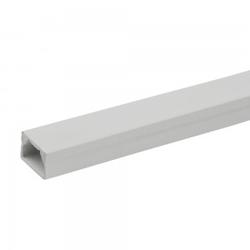 1,2m Kabelleiste LS 10x15 PVC Kabelkanal Installationskanal Kanalleiste Elektro Kanal Marmat 3290