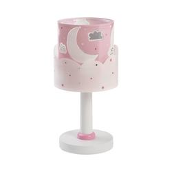 Dalber Nachttischlampe Tischlampe Moon, pink rosa