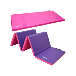 eyepower Fitnessmatte XXL Gymnastikmatte Turn-, Sport- und Bodenmatte, Weichbodenmatte pink