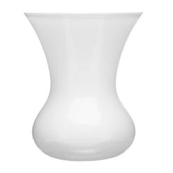 SEA glasbruk Blomma Vase, weiß