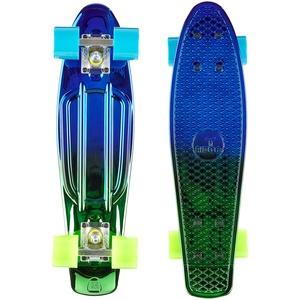 "Ridge Skateboard Neochrome Range Mini Cruiser 22"", Blau/Grün, Zoll"