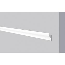 Decoflair Kantenleiste Decoflair®Lichtleiste CL11, mit Aussparung für LED-Lichtleiste für indirekte Beleuchtung