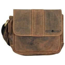 Greenburry Greenburry Vintage Umhängetasche Leder 19 cm